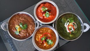Delicious curries - 7 by the Lake Indian Restaurant