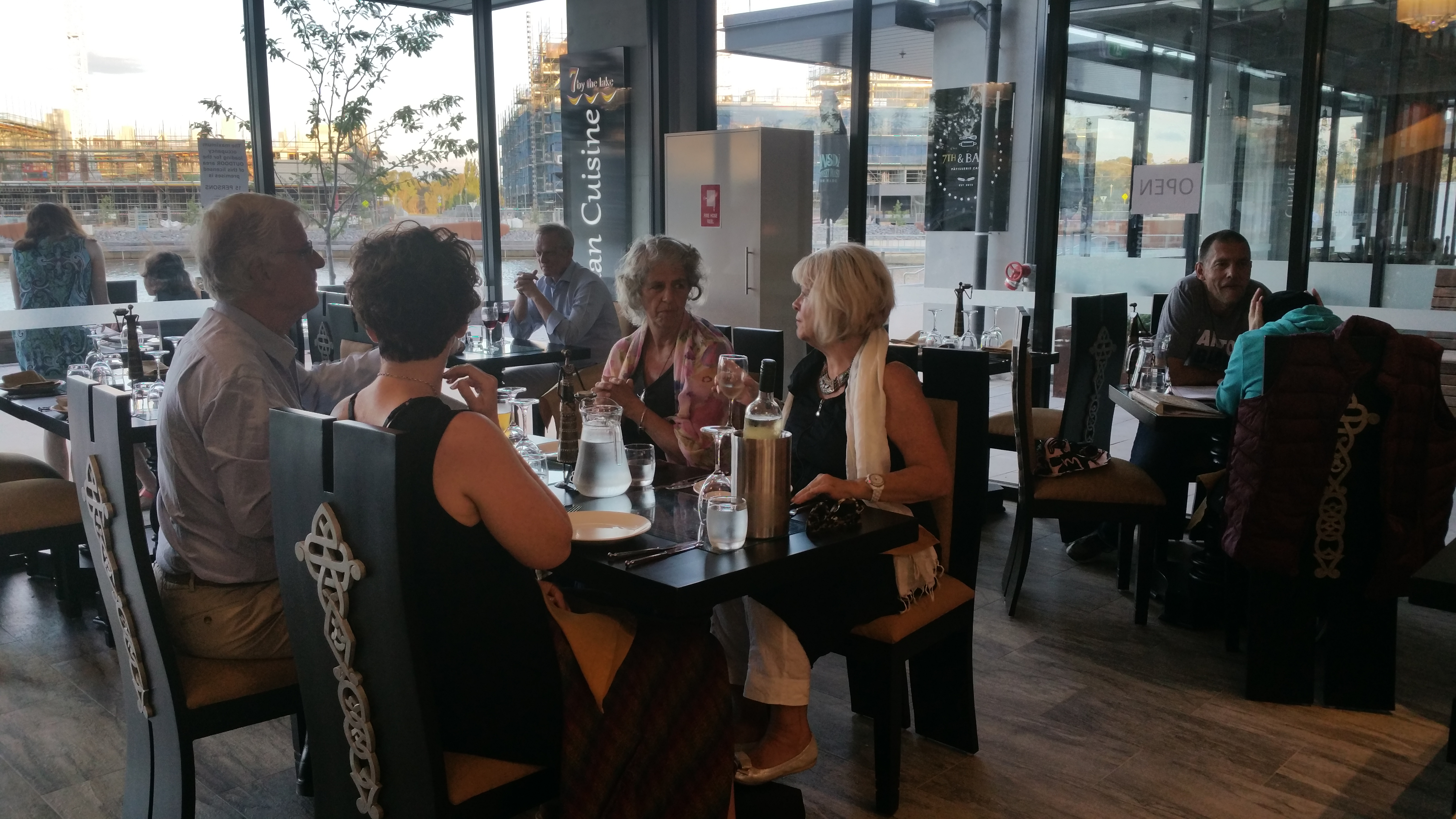 7 by the lake Indian Restaurant at Kingston Foreshore Canberra ACT 2604